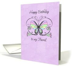 Happy #Birthday #friend #card sold to customer in Texas, United States