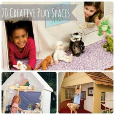 Secret Hideout: 20 Creative Play Spaces for Kids