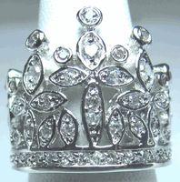 Wendy Crown Ring Pandora Bracelets, Pandora Jewelry, Charm Jewelry, Pandora Charms, Jewelry Rings, Wendy Lewis, Pageant Crowns, Cross Designs, Austrian Crystal