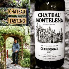 Wine tasting at Chateau Montelena, Napa Valley. #LisaLeeArts