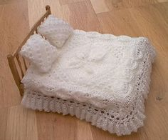 Knitting Patterns For Dolls Houses : 1/12 inch scale fine miniature knitting for dollhouse babies, toddlers, and c...