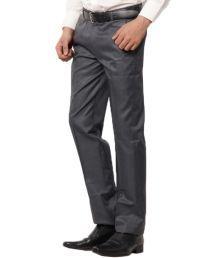 Mercado-Italy Smart Blue Formal Trouser