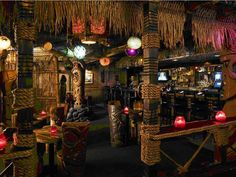 "Las Vegas, NVThe world's only tiki bar open 24 hours a day, Frankie's has become quite the Vegas favorite. The interior is almost overwhelmingly tiki, all pieced together by ""Bamboo Ben,"" one of the designers of Disney's Enchanted Tiki Room.In addition to designing their own tiki mugs (most famously a slot machine mug), Frankie's sells its own cocktail book, Liquid Vacation. Try the ""Tonga Reefer"" (four different rums, guava, lime, and vanilla bean) or the ""Thurston Howl"" (rum, brandy, gin…"
