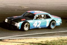 Picture of Pontiac LeMans stock car with small displacement block racing on the Grand National Circuit. Real Racing, Auto Racing, Kyle Petty, Pontiac Lemans, Plastic Model Cars, Old Race Cars, Grand National, Vintage Race Car, Le Mans