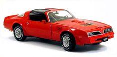 PhillyMint-Franklin Mint 1977 Pontiac Trans Am Red Limited Edition FM Diecast Club 1:24 model