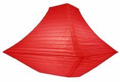 "14"" Red Pagoda Paper Lantern"