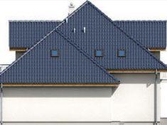 DOM.PL™ - Projekt domu ARD Kasztan 2 paliwo stałe CE - DOM RD1-60 - gotowy koszt budowy Design Case, Dom, Solar Panels, My House, Outdoor Structures, Outdoor Decor, Floor, Home Decor, Ideas
