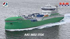 Aas Mek. Verksted's new design for living-fish freighter has been signed for Bømlo Brønnbåtservice. 2017.