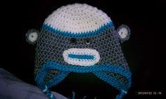 Infant boy monkey hat