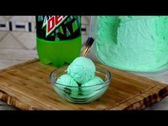Mountain Dew ice cream. This fun recipe requires no ice cream maker and it only has a few ingredients. http://www.funfoodsyt.com Ing...