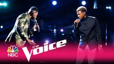 "The Voice 2017 Chris Blue and Usher:Top 4 artist Chris Blue teams up with former Voice coach Usher on R.E.M.'s '90s, ""Everybody Hurts"" on the live finale."
