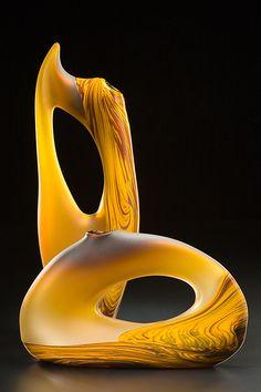 Yellow Gold Vilano and Trans Bolinas by Bernard Katz