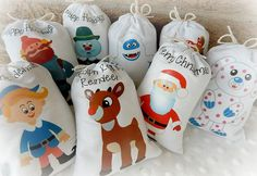 Holiday favor Bags Island of Misfit toys with by CharleysCache