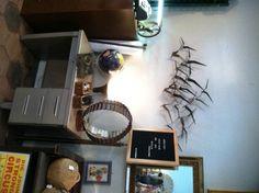 Vintage Metal Birds Wall Hanging