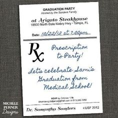 Totally having a party when I graduate from pharmacy school :) by bridget