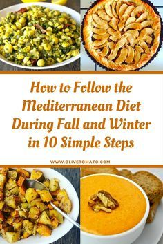 How to the Mediterranean Diet During Fall and Winter in 10 Simple Steps oHow to the Mediterranean Diet During Fall and Winter in 10 Simple Steps olivetomato # Easy Mediterranean Diet Recipes, Mediterranean Dishes, Healthy Diet Tips, Healthy Eating, Healthy Recipes, Healthy Protein, Dieta Dash, Med Diet, Medatrainian Diet