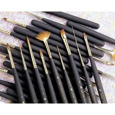 Princeton Artist Brush Mini Extra Long Liner Brush (Set of 2) Size: 20/0