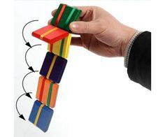 b4716eb02d97 Logikai hajtogatós, lépcsőző játék fából - Jákob lajtorjája - vicces fa  ajándék ötlet gyerekeknek