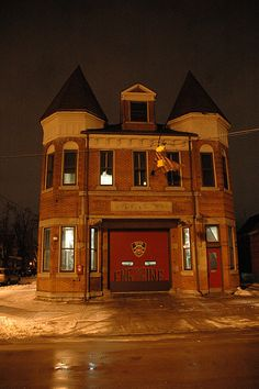 Buffalo Fire Eng 28. I've always wanted to make my home out of an old firehouse!!!!!!