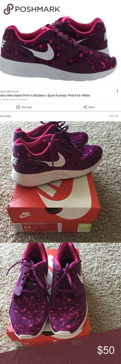 Nike size 8.5 Barely worn. Too big for me. I wear an 8. Super comfortable. Nike Shoes Athletic Shoes