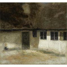 Vilhelm Hammershøi (1864-1916)  Corner of a Farm