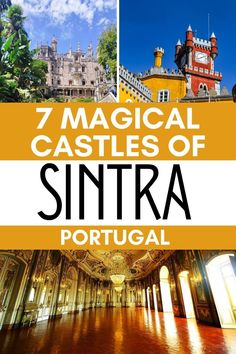 Visit the 7 most beautiful castles of Sintra Portugal for history, art, and great photos. This ultimate Sintra travel guide includes all the fairytale castles of Sintra including Pena Palace, Quinta de Regaleira, Monserrate Palace, tips, accommodation options that will help you plan a memorable next trip to Sintra. #Sintra #Portugal Portugal Vacation, Portugal Trip, Sintra Portugal, Visit Portugal, Spain And Portugal, Portugal Travel, Spain Travel, Best Places In Portugal, Hotels Portugal