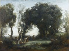 Jean-Baptiste Camille COROT, « Une matinée ; la danse des nymphes », © RMN-Grand Palais (musée d'Orsay