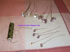 See how we do it: How to make flowers from metal wire and nail polish