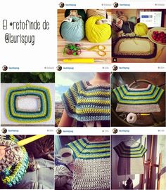 Topdown raglan top. K crochet hook; bulky yarn.