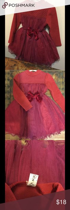 💘 Beautiful baby dress  9-12 months Brand: Niki House -Darling winter dress for a baby girl. ❣ Dresses Formal