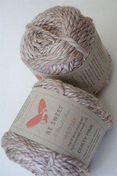 Be Sweet Au Naturals Wild Silk Yarn  03 Dusty Pink