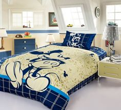 Mickey Mouse Blue Disney Bedding Sets