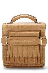 Vince Camuto 'Sofia - Small' Fringe Leather Crossbody Bag