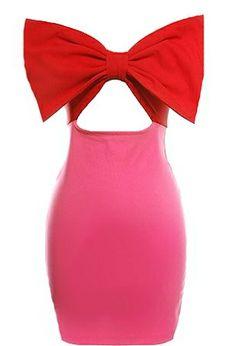 Paramount Bow Dress