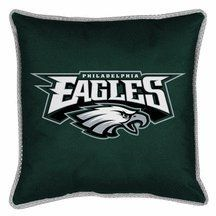 "Philadelphia Eagles 18"" x 18"" Decorative Toss Pillow for the Sidelines Collection from Kentex (Set of 2)    Direct Link:   http://www.amazon.com/Philadelphia-Decorative-Sidelines-Collection-Kentex/dp/B002466TZS/?tag=greavidesto05-20"