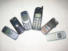 Some of my old Nokia phones. #nokia #collection