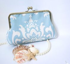 Beach Wedding Clutch by tbtcwedding on Etsy, $55.00