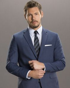 Bold And The Beautiful, Beautiful Men, Suits You, Mens Suits, The Fall Guy, Costume Sexy, Young And The Restless, Be Bold, Mode Masculine