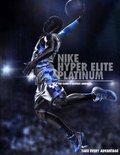 Nike Hyper Elite Platinum | #poster #basketball