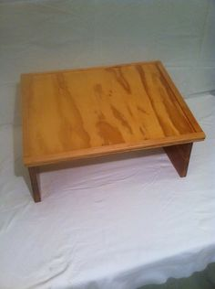 This Unique Lap Desk could be a Table Top by DSmithWoodcraft