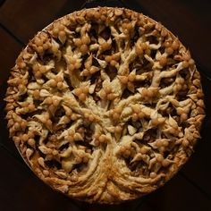 Apple Pie with Crushed Pecans and Salted Caramel by Christine McConnell.