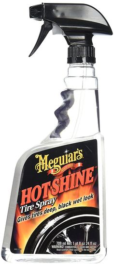 Meguiar's G12024 Hot Shine High Gloss Tire Spray Product Review