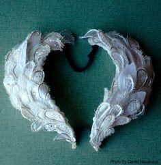 White Swan headdress from Swan Lake