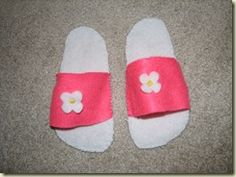 Very simple dress-up shoes for kids!