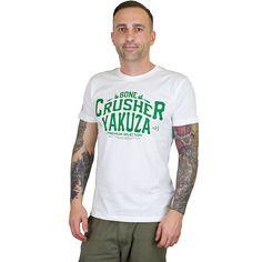 Yakuza Premium T-Shirt Crusher weiß