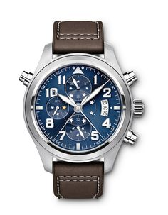 IWC Schaffhausen Le Petit Prince Double Chronograph Edition Pilot's Watch