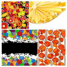 Colorful florals backgrounds vector material - https://gooloc.com/colorful-florals-backgrounds-vector-material/?utm_source=PN&utm_medium=gooloc77%40gmail.com&utm_campaign=SNAP%2Bfrom%2BGooLoc
