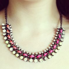 #new #purchase #necklace #jewellery #worth #it #missselfridge #summer #colours #pink #cute #pretty #perfect #love #pin