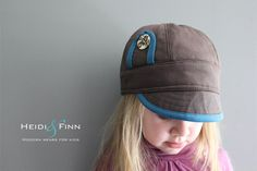 NEW Uptown Hat pattern and tutorial 12M-teen easy sew PDF pattern unisex cap