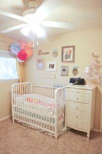 Baby girl nursery decor